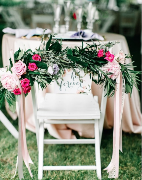 sweetheart+table+decor+with+flowers