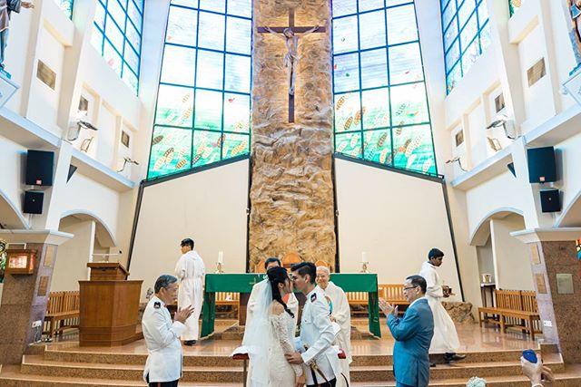 Church wedding of Andrew & Christine ✨