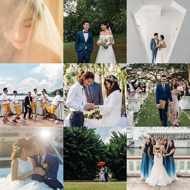 A big thank you to all the couples who journeyed with me and entrusted their special moments to my craft in 2018. I truly appreciate every opportunity to capture couples' happy moments, and look forward to more in 2019!