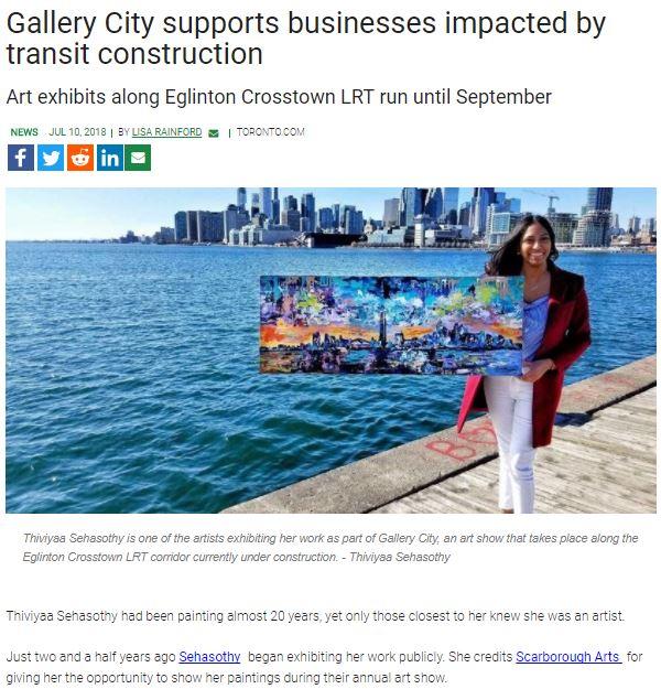 Featured on Toronto.com -