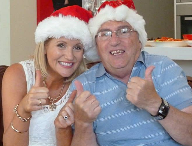 My Uncle Jimmy and I,Christmas Day 2015.