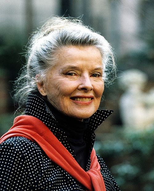 Katherine Hepburn aged gracefully, and swam everyday until her death in 2003.  Another inspirational woman.  Photo: ilonagarden.hubpages.com