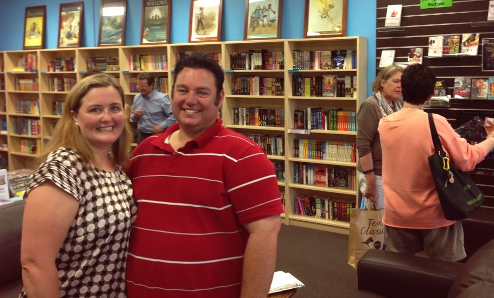 Natasha and Mark from Book Bonding