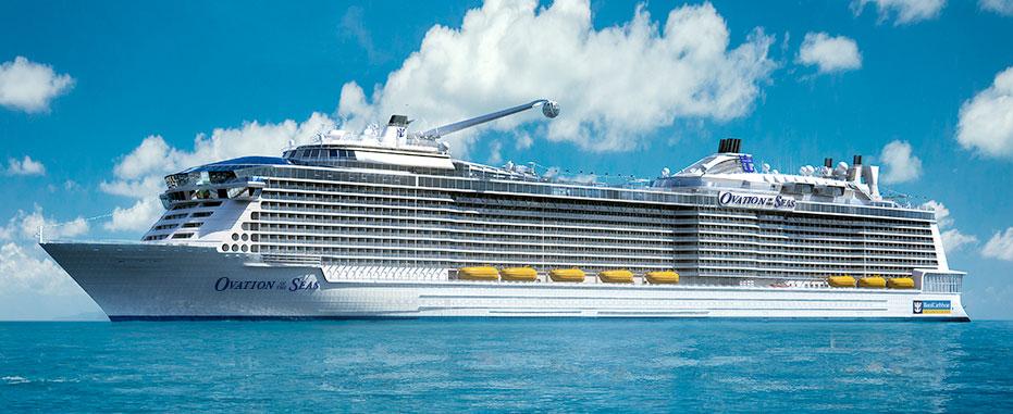 "Photo    ""Ovation of the Seas"""