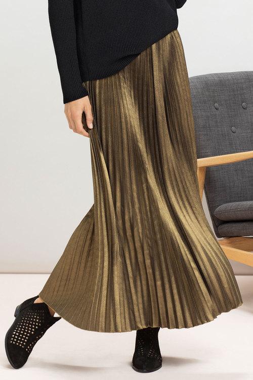 Ezibuy  Grace Hill Pleat Stripe Skirt - down to $75.00