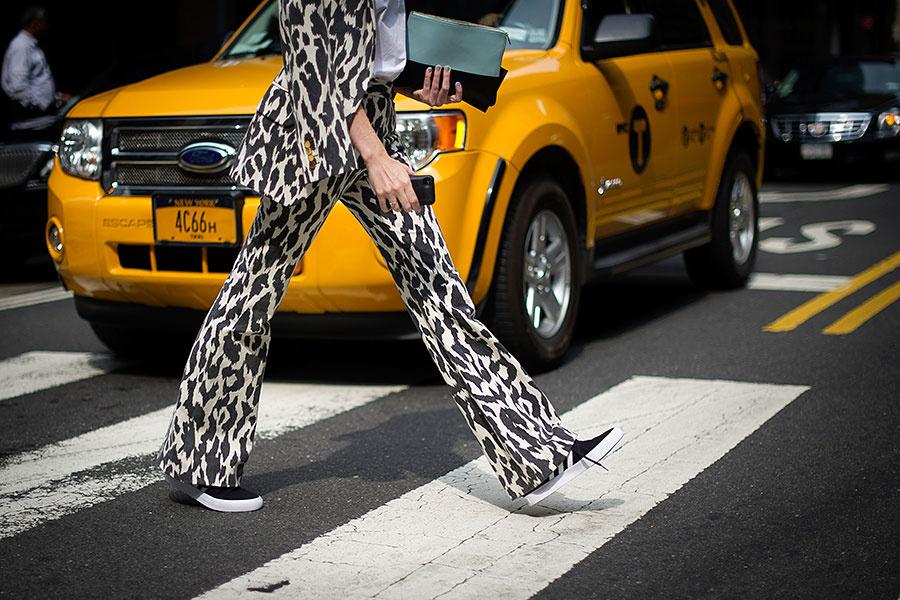 Leopard print can be fun.   Photo