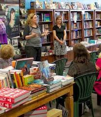 A author event at Book Bonding