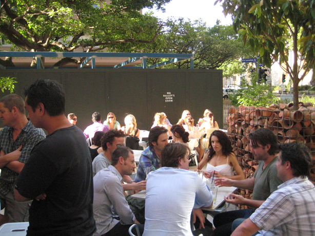 Melbourne's biggest beer garden at Trunk.