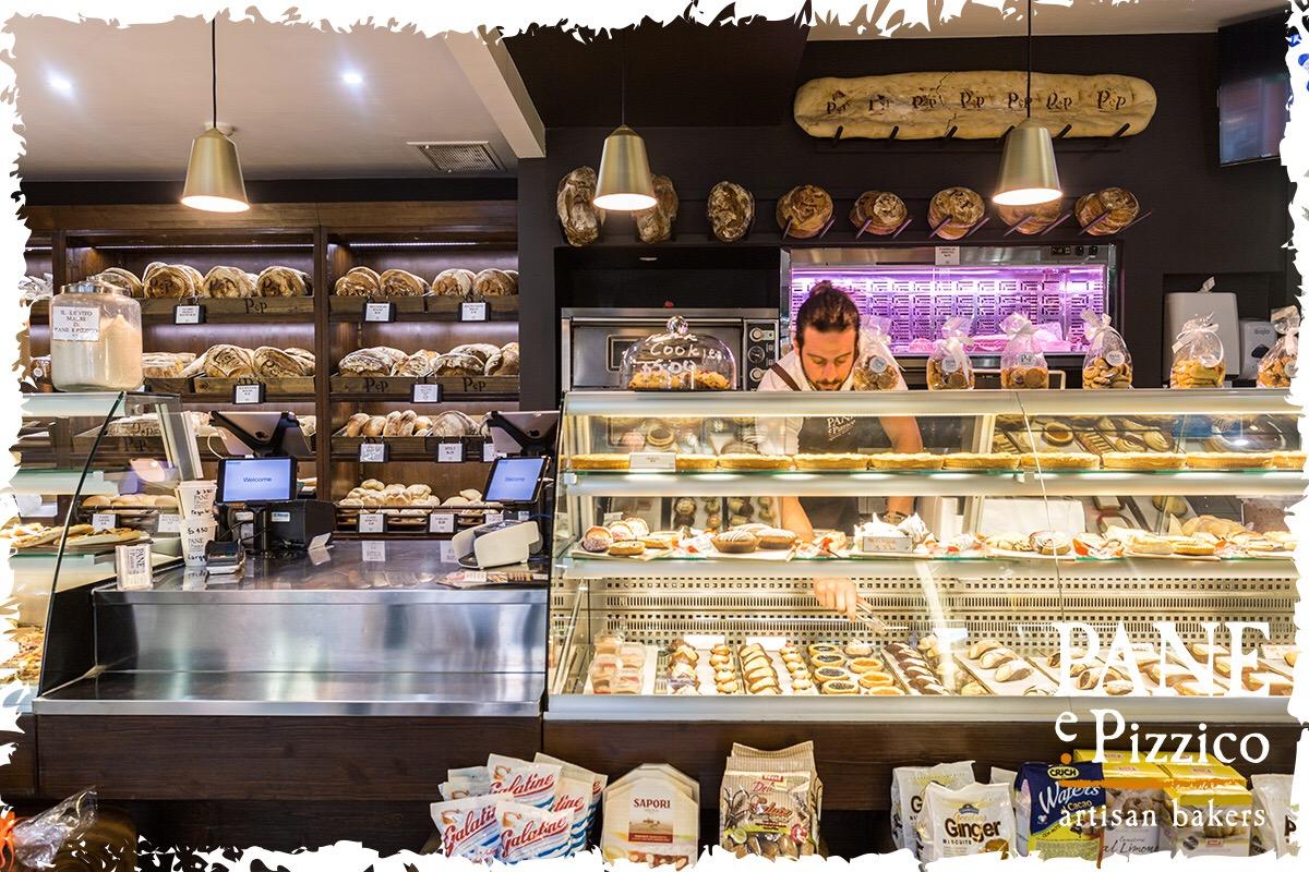Gorgeous James working at his family run Italian business - Pane e Pizzico, Artisan bakers.