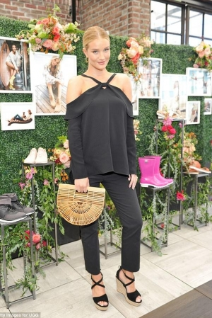 Rosie Huntington-Whiteley at UGG Spring 2017 Campaign Luncheon   Image Source