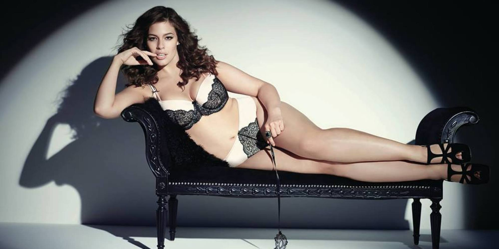 Image:  Getty Images .   Ashley Graham  is another gorgeous plus size model we love.