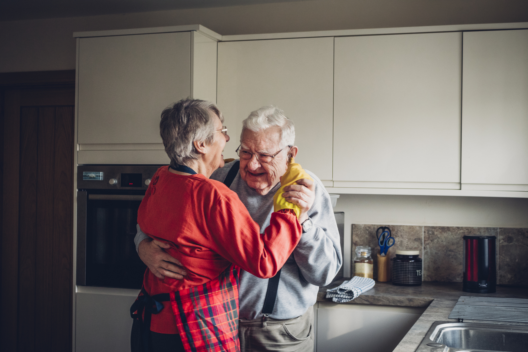 Will this be you still dancing around the kitchen together?
