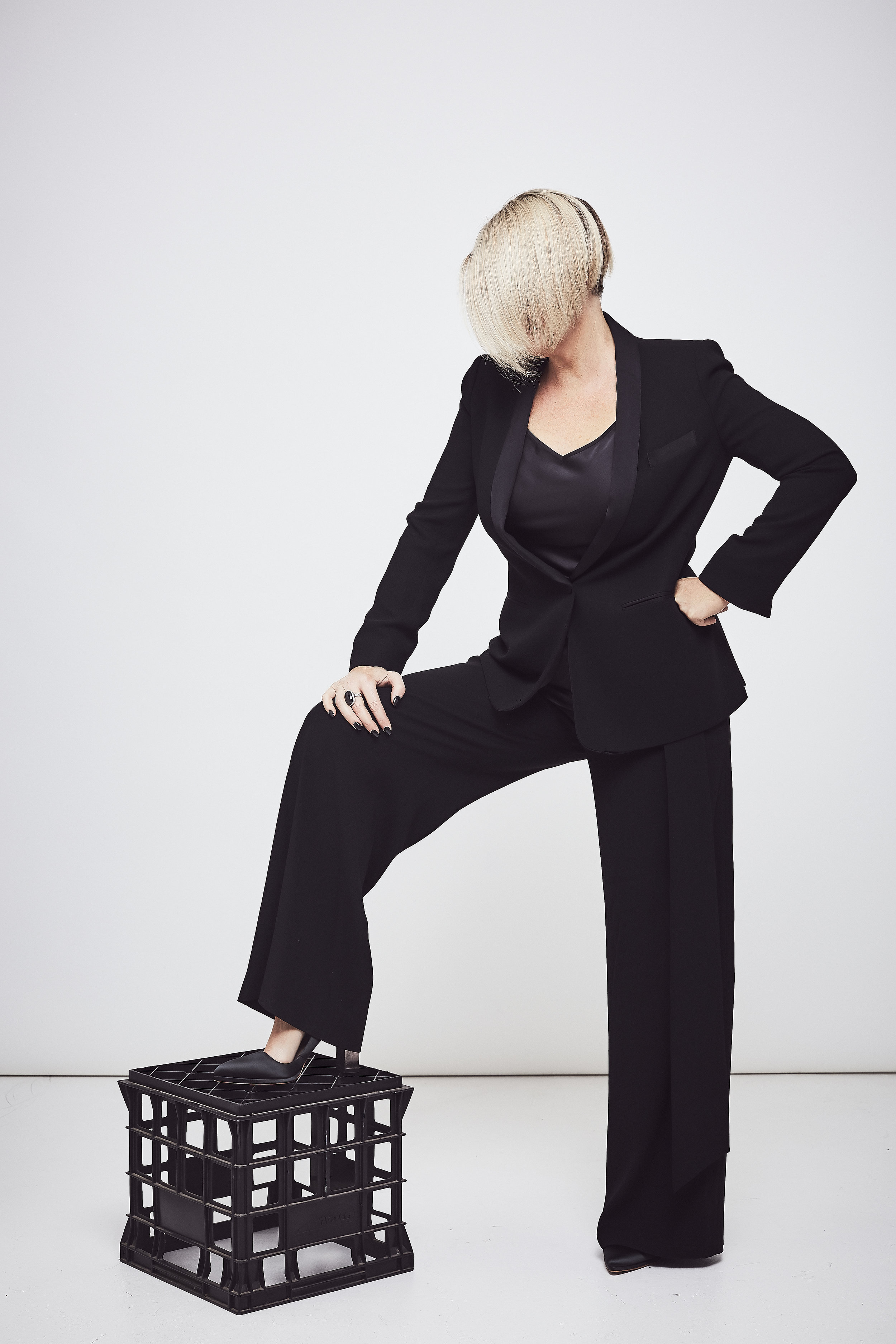 Pants styled with my favourite  Carla Zampatti Blazer  (which I am wearing again today).