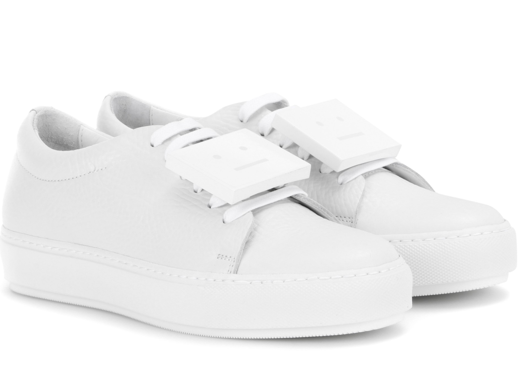 My Acne Studio sneakers, now $600 to buy brand new from  mytheresa.com.