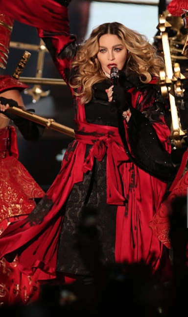 Madonna performing in Taipei - 2017 - Age 59  Image