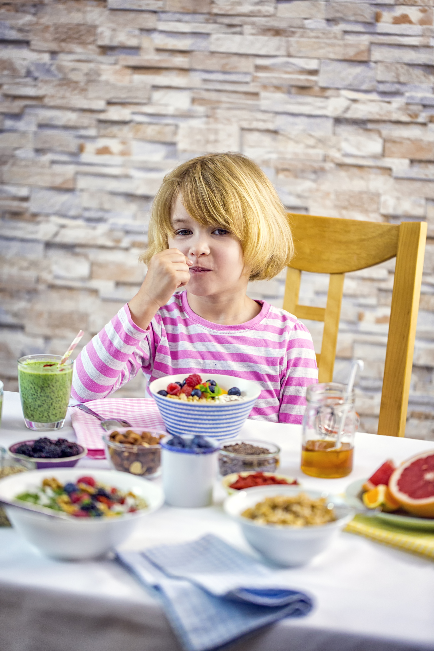 We are never too young to eat antioxidant-rich food, for our health and skin. The more we eat, the more our children will eat.