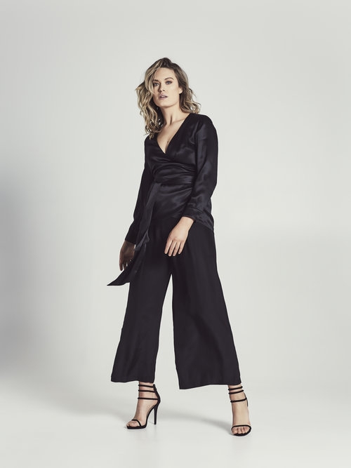 Cazinc The Label's 100% Palazzo Pants $299.00