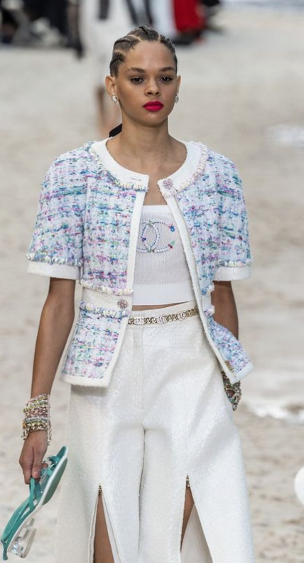 Chanel Suit - Spring Summer 2019 Ready To Wear Range.  Image