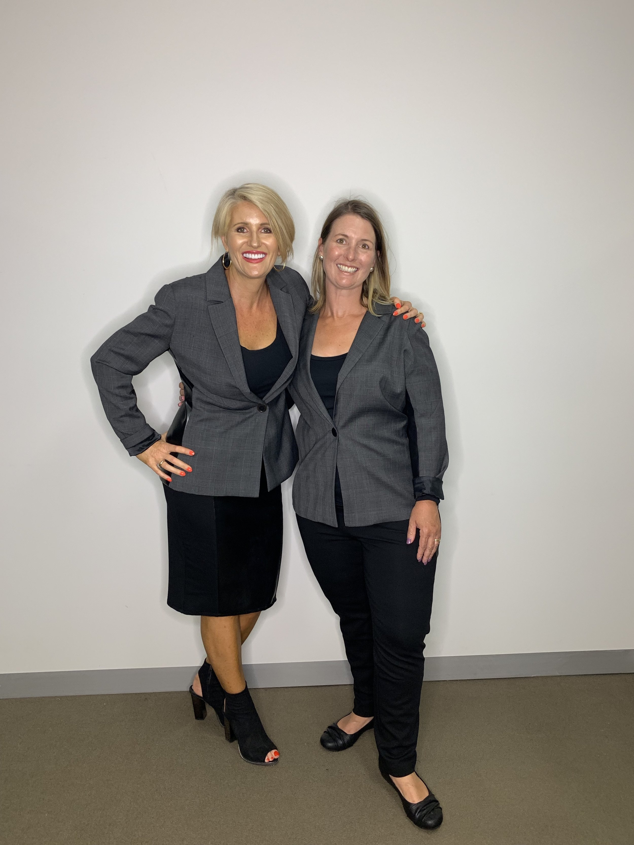 I often wear my skirt. Here I have styled it for work with our gorgeous model, Sally.