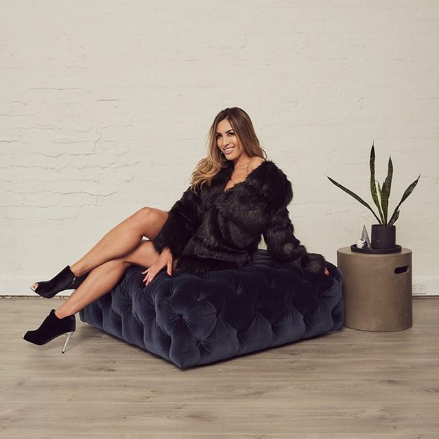Take this bad boy from winter to spring - the black faux fur and faux leather coat is the perfect way to stay warm on those rainy spring days and cold nights 🖤 only a few left and price is now $349, reduced from $499 🖤 . #fashionsale #sale #blackfashion #transeasionalfashion #winterfashion #springfashion #fauxfur #fauxfurcoat #cazincthelabel #realclothesforrealwomen 🖤