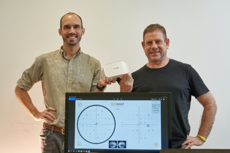 Mr Martin Sawtell (L) and Mr Corey Manders (R), Founders of Betasight Technologies, ISO 13485:2016 Certified