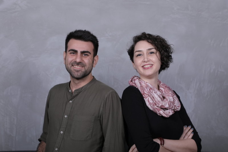 Mr Milad Mohammadzadeh (L) and Ms Sadaf Monajemi (R), Founders of See-Mode Technologies,  ISO 13485:2016 Certified