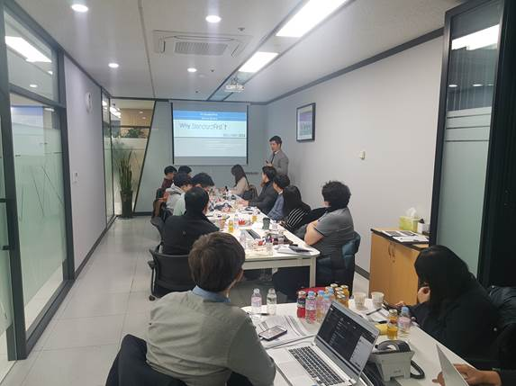 January 2019 Workshop at MEDITIP Co., Ltd., in Seoul