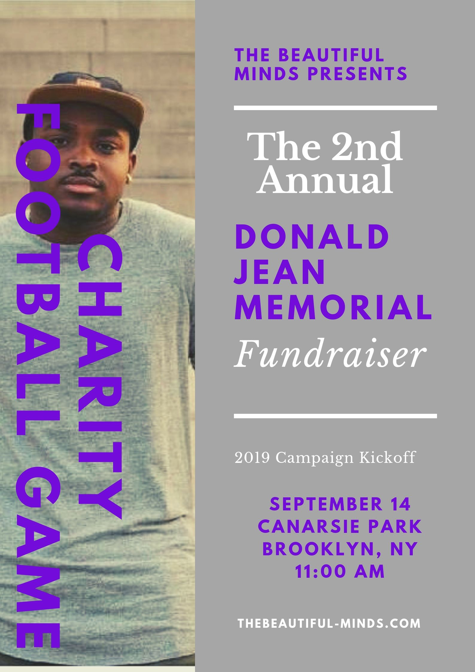 In Memory... - In honor of a friend who left us far too soon – The Beautiful Minds, with the blessing of the Jean Family, presents our fundraising initiative.2018 - Our very first year was a huge success. We raised over $2,000 in donations for St. Jude Children's Research Center.