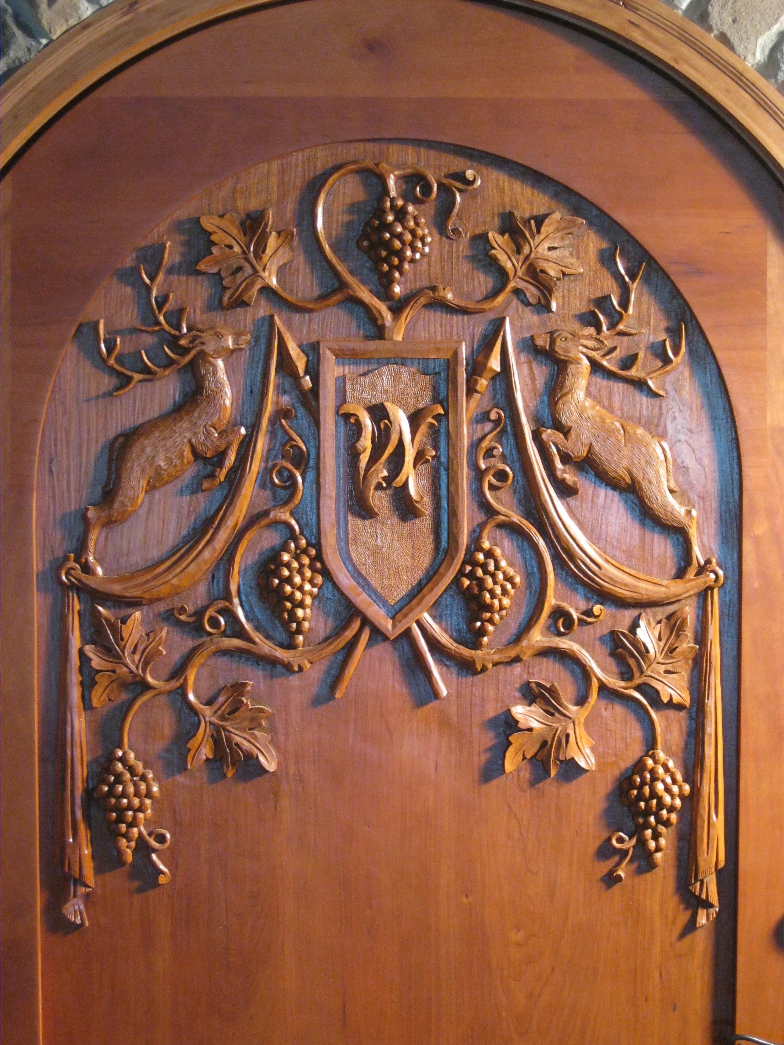 Black Forest style wine cellar door