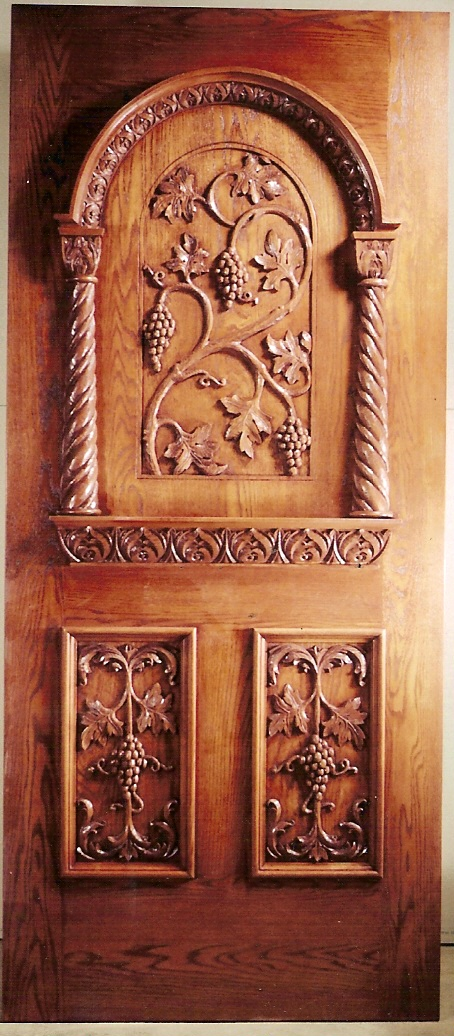 Italian style wine cellar door