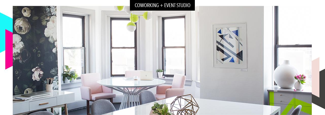 coworking event studio.jpg - Bureau Studio: DC Work Space Rental