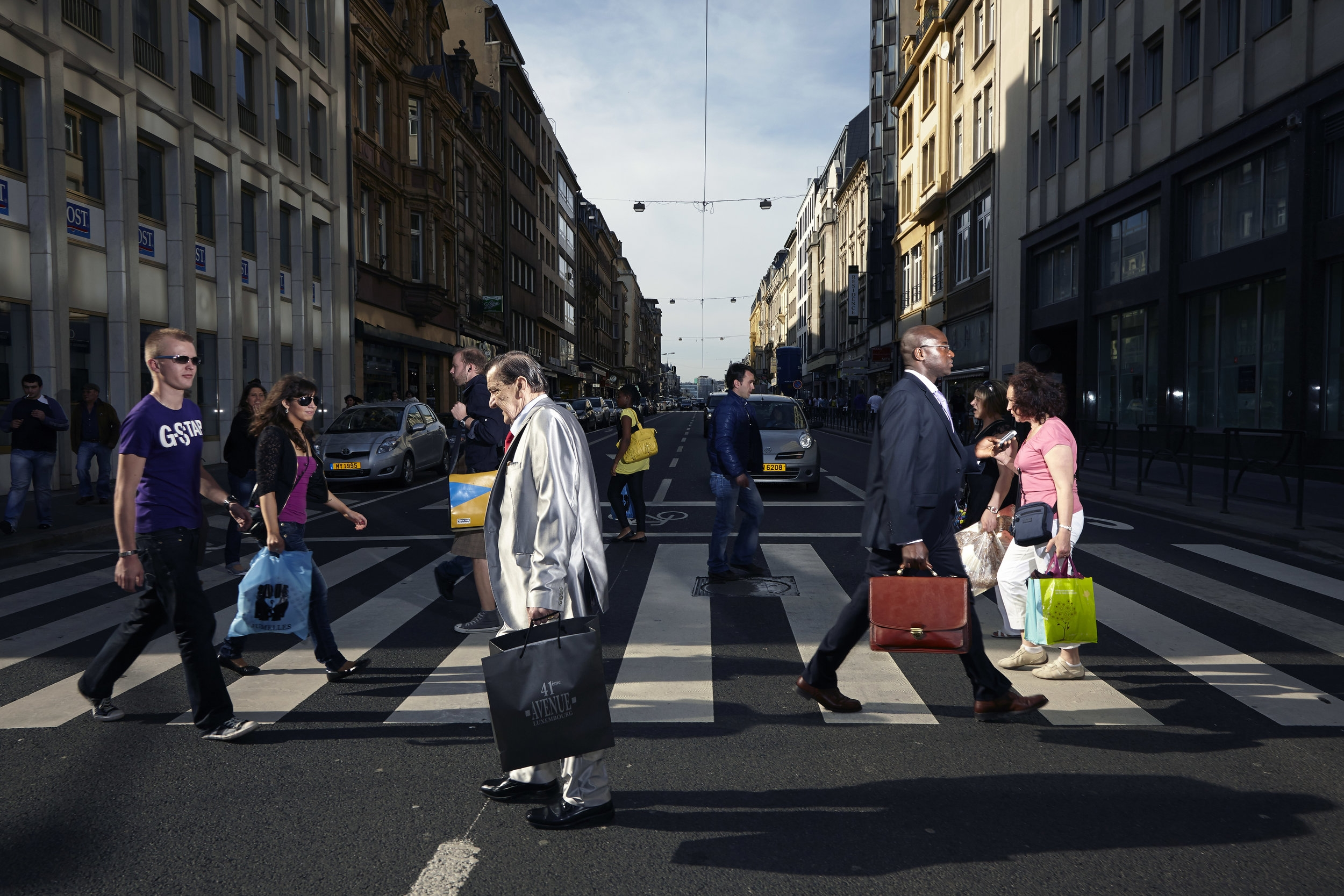 A photo from the project Crossing Europe in the city and country Luxembourg