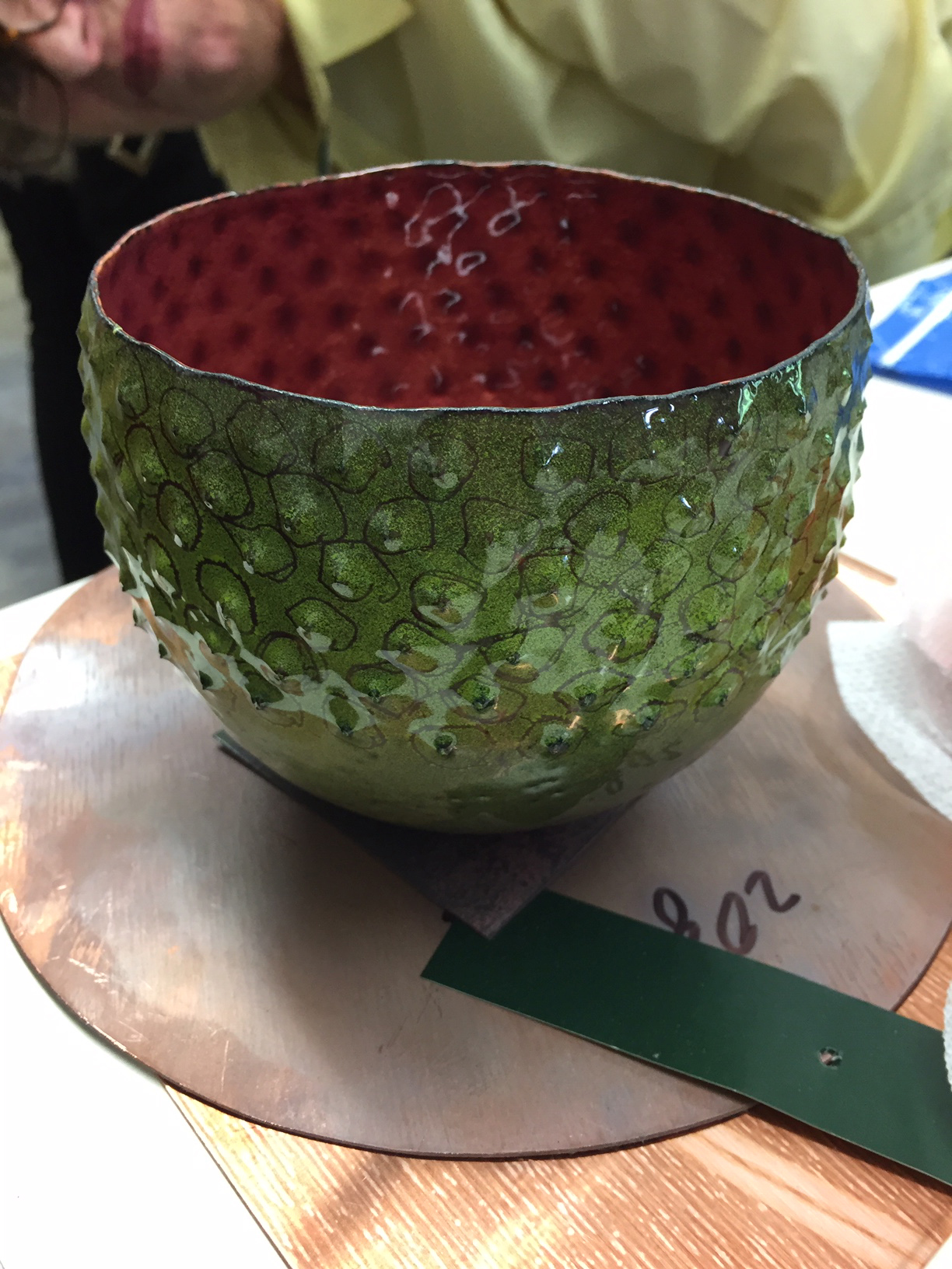 Bowl in process - by Sarah Perkins