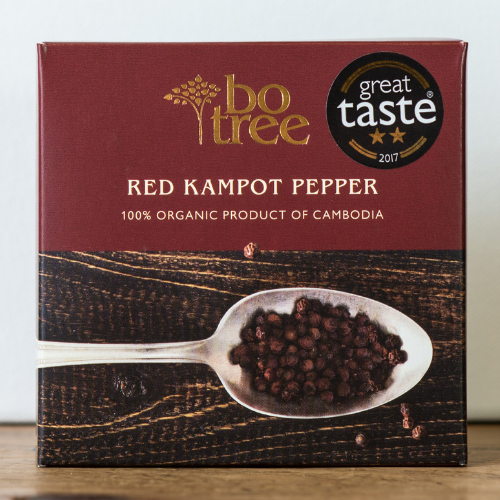 BoTree Red Kampot Pepper organic ethical