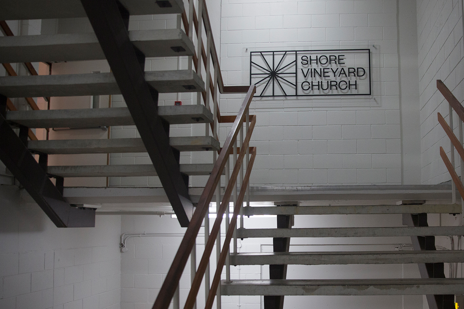Stairs to the hallway