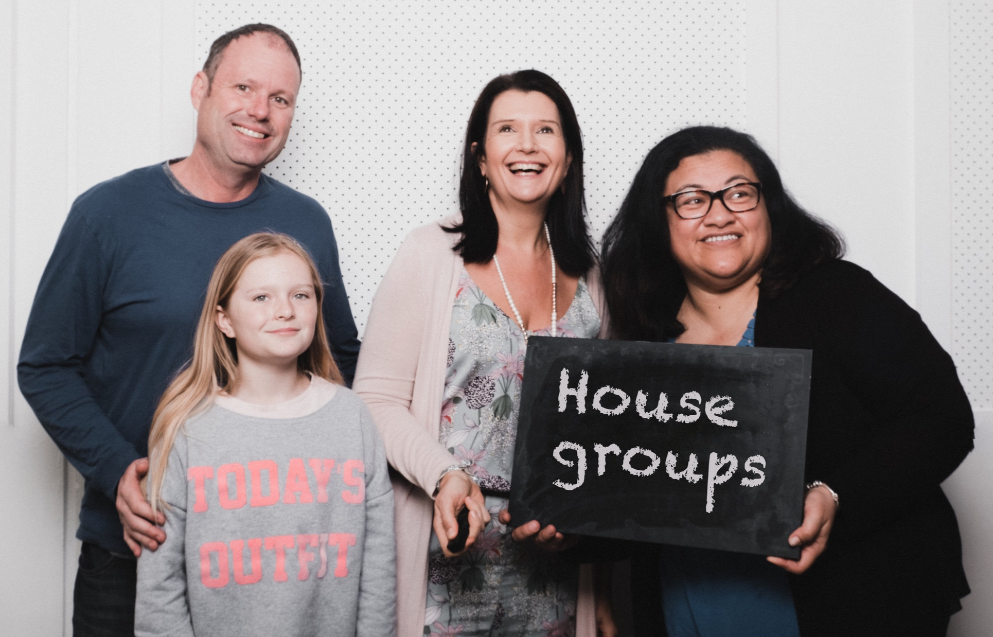 House Groups - House Groups normally meet in a person's house and are welcoming and inclusive. They are groups where long term friendships can be developed and where we can be ourselves. Groups tend to follow the school term. Some meet every week, others fortnightly. Contact the leader for details.