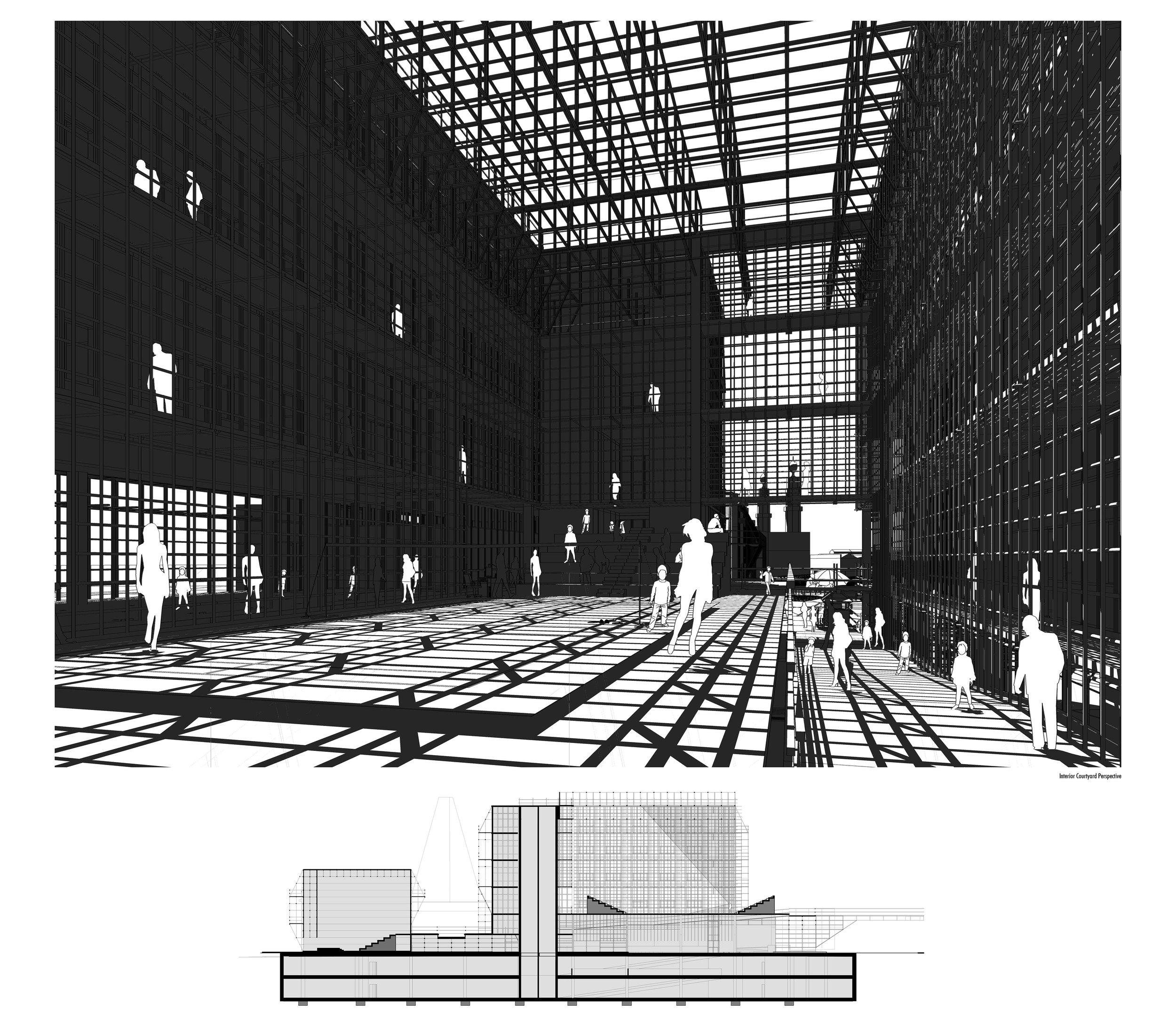 Internal Courtyard Perspective...