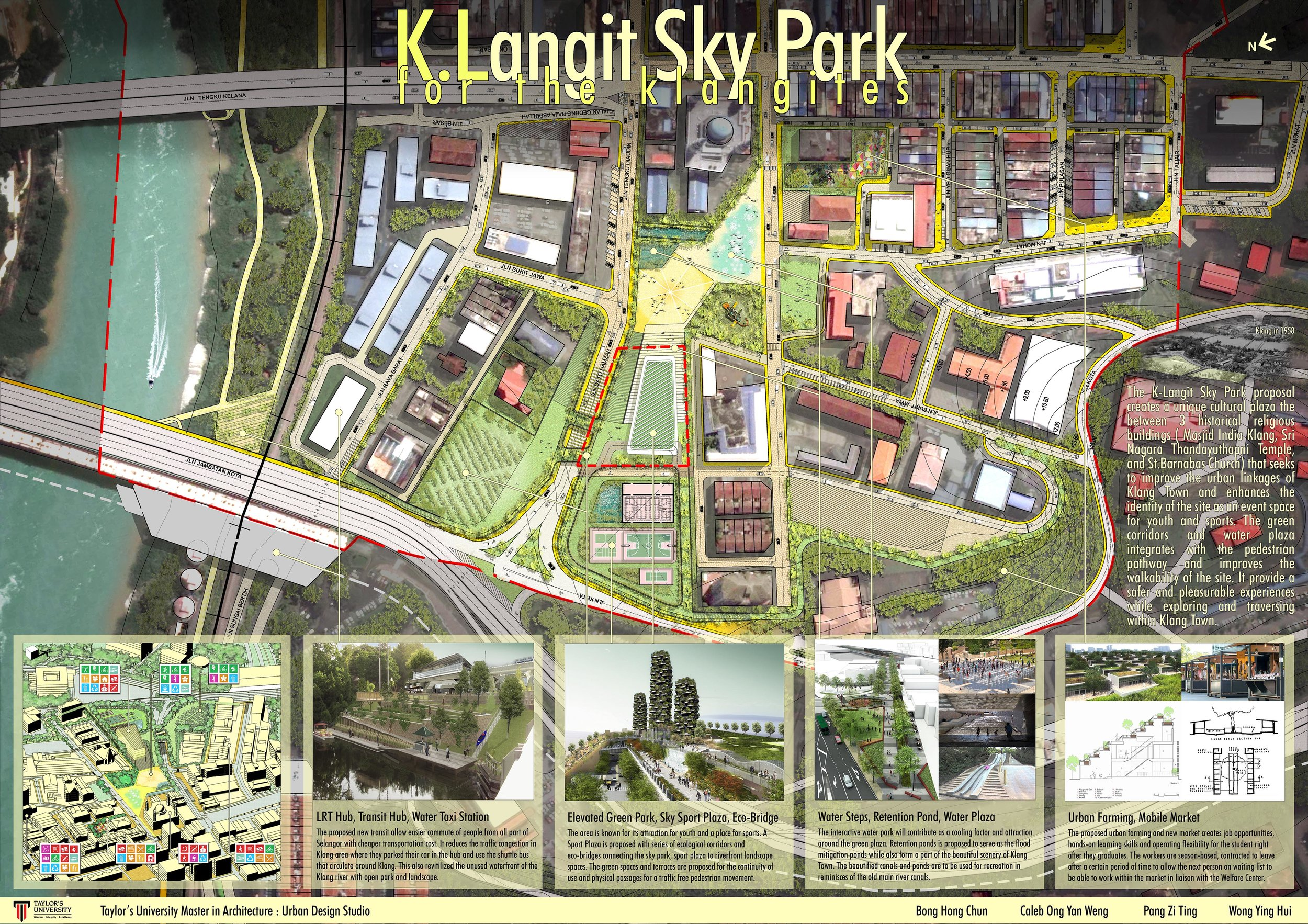 Urban Design Proposal Masterplan