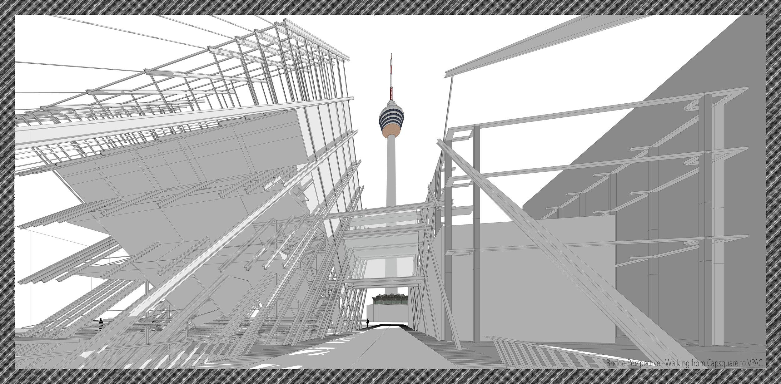 人行橋透視圖