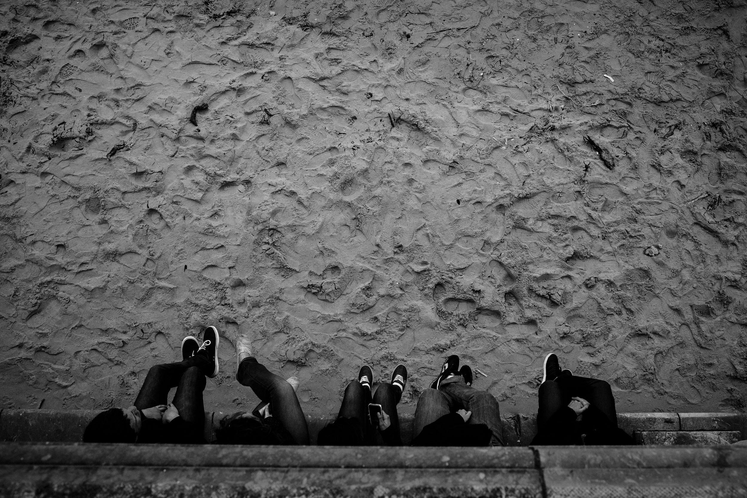 Wedding Photography in San Sebastian | Spring Photos on La Concha Beach San Sebastian Gipuzkoa Basque Country Spain - James Sturcke  Photographer | sturcke.org_009.jpg