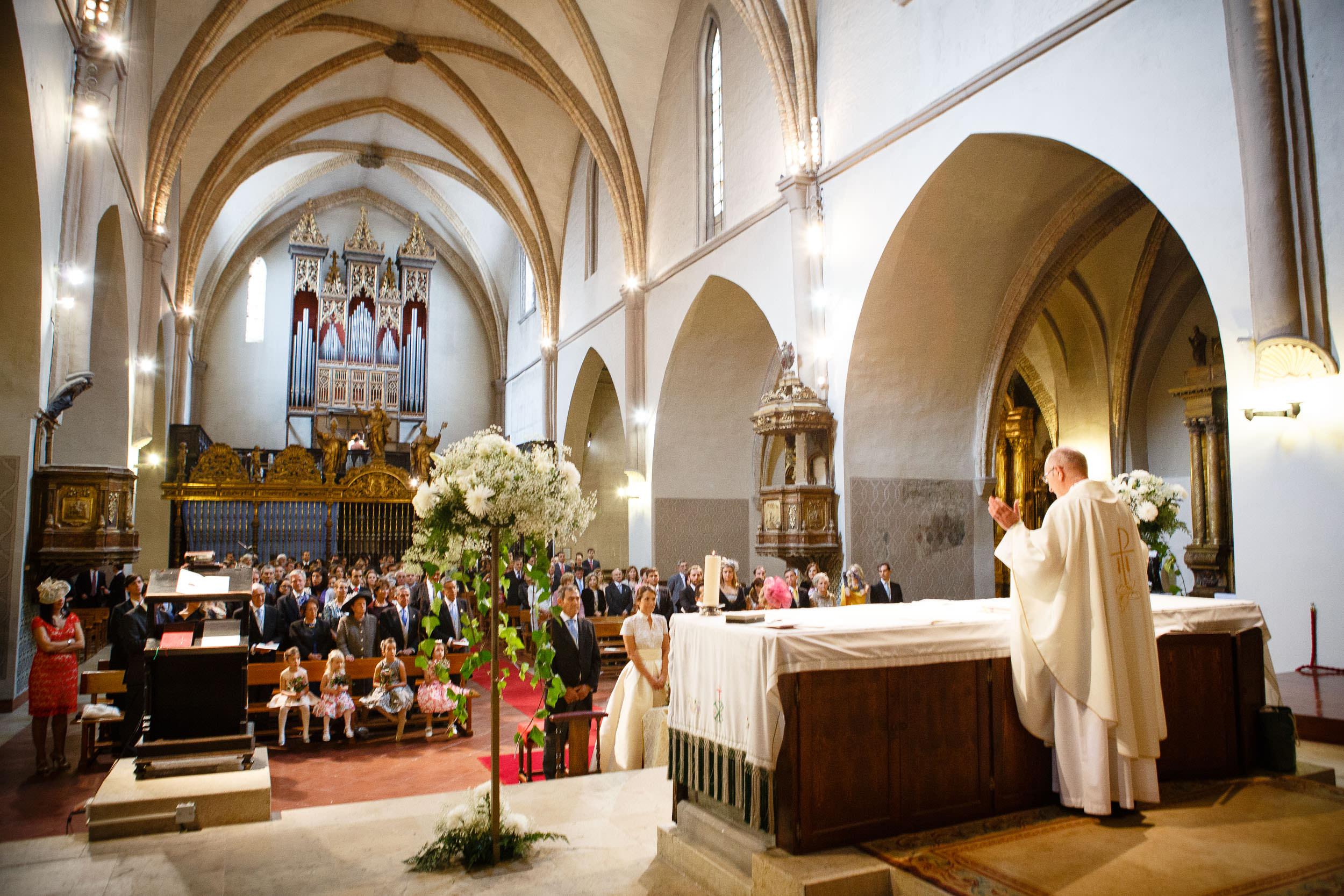 19/10/13 María y Santi, Iglesia San Pablo y Restaurante El Cachirulo, Zaragoza, Aragón, España. Foto de James Sturcke Fotografía | www.sturcke.org