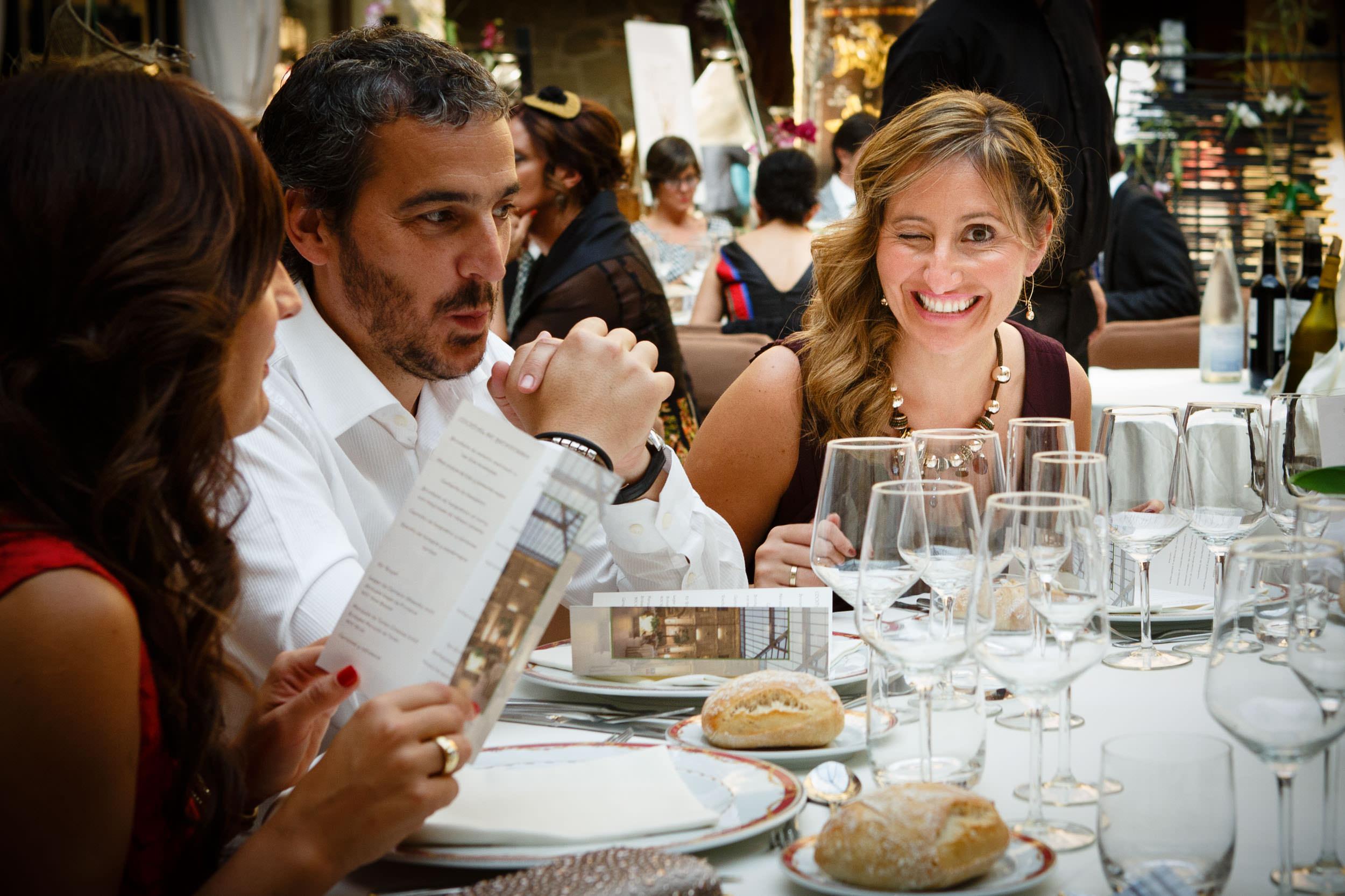 27/9/14 Maite y Aitor, Santo Domingo y Haro, La Rioja, Spain. Foto de James Sturcke | www.sturcke.org