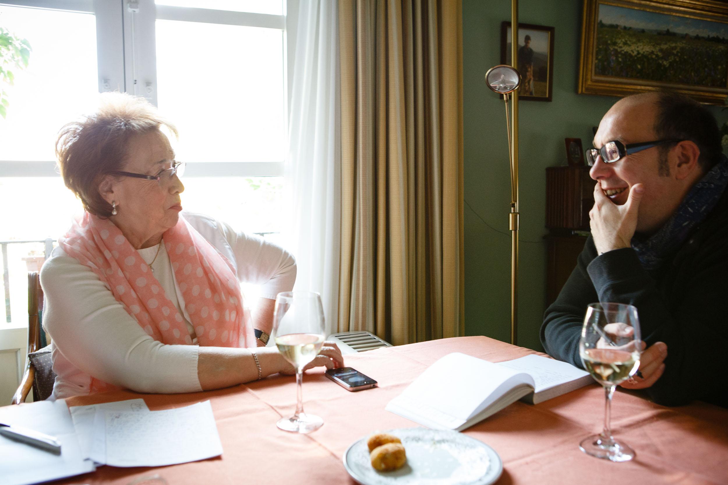 14/11/12 Sesión de fotos con Marisa Sánchez en Hotel Echaurren, Ezcaray, La Rioja, España. Foto por James Sturcke Fotografía | www.sturcke.org