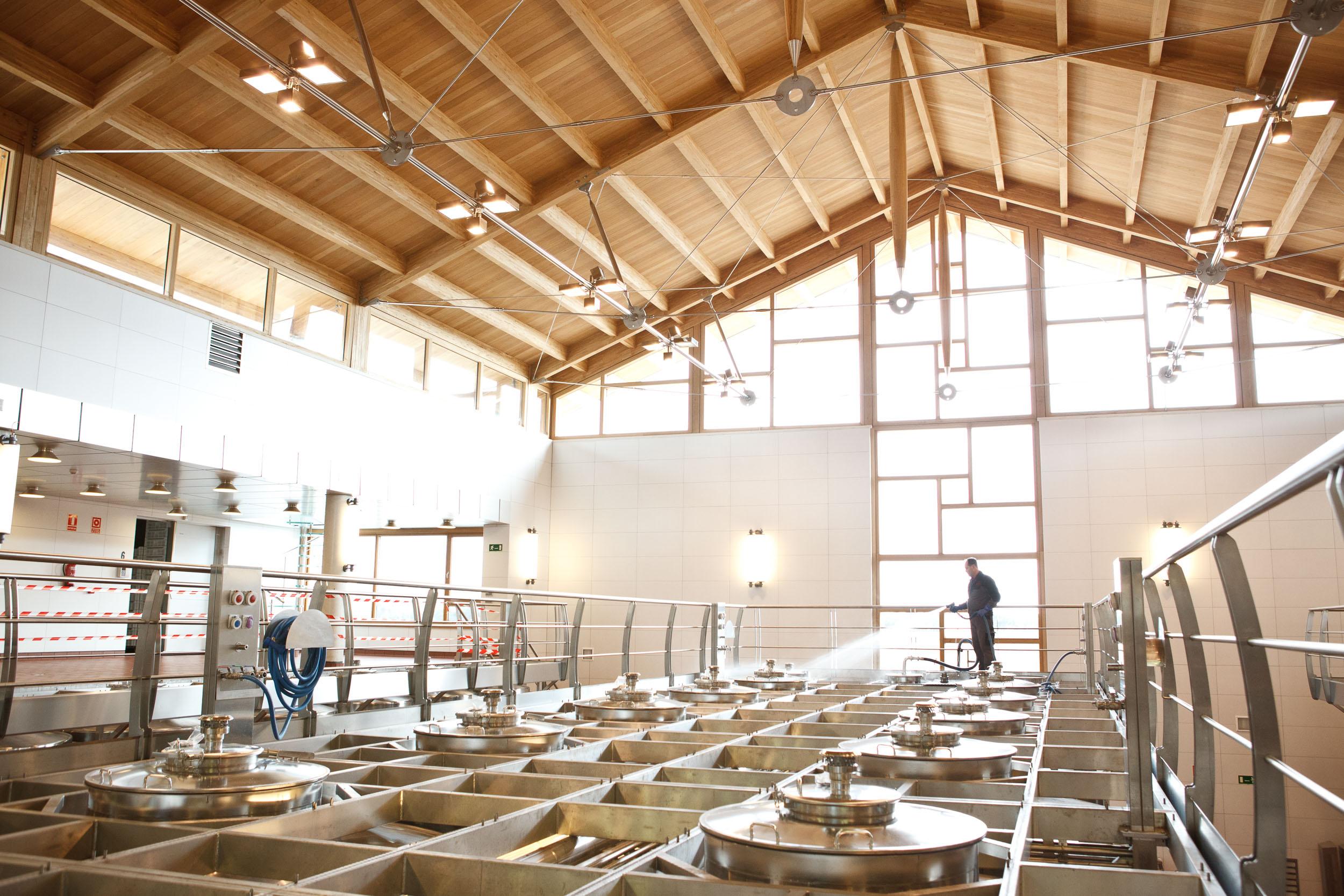 16/2/12 New building at Vega Sicilia Winery, Valbuena de Duero, Castilla y Leon, Spain. Photos by James Sturcke Fotografía | www.sturcke.org