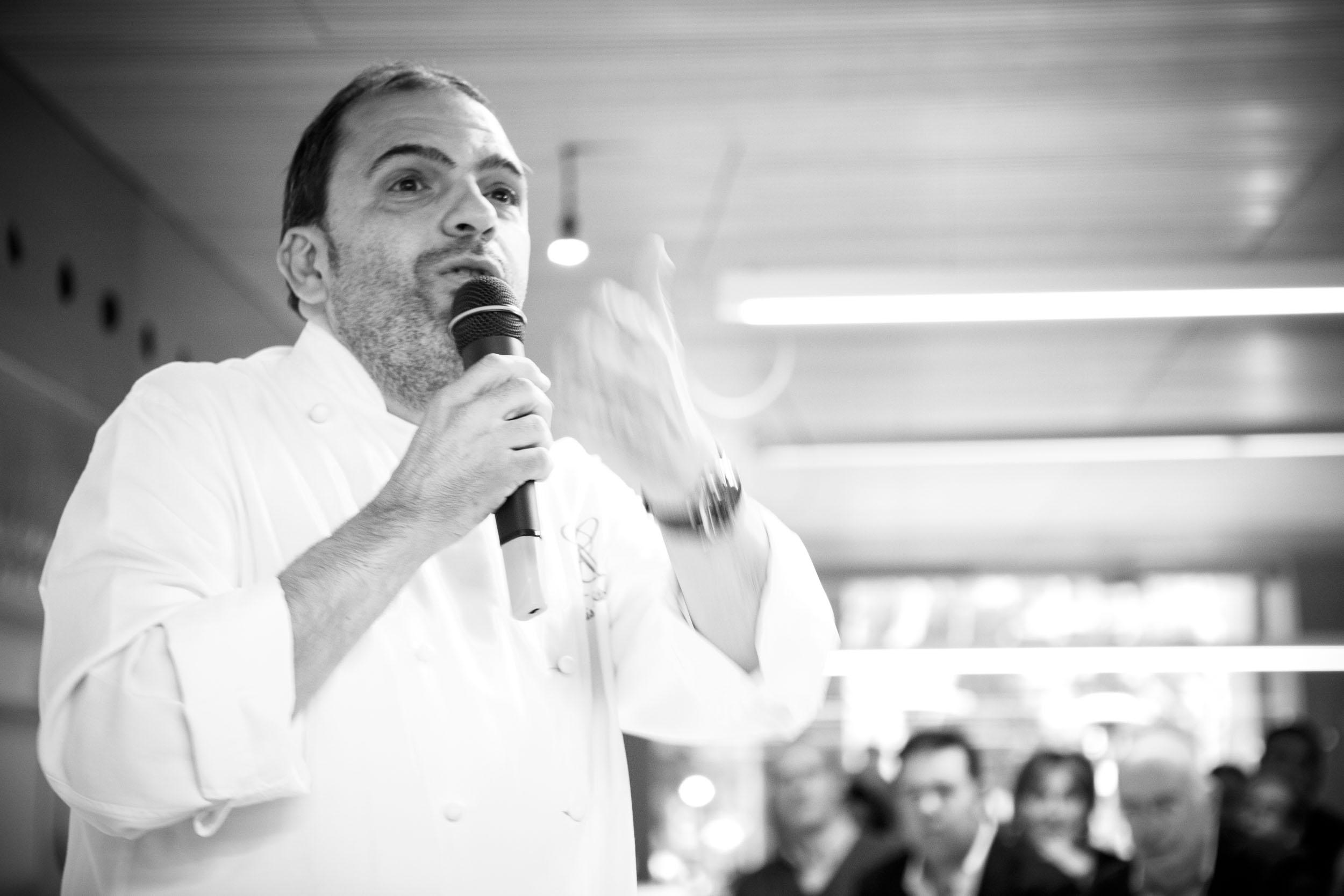 25/4/12 Jesús Sanchez en Restaurante Tondeluna, Logroño, con cocinero Francis Paniego y Luisa Barrachina. ©James Sturcke Fotografía | www.sturcke.org