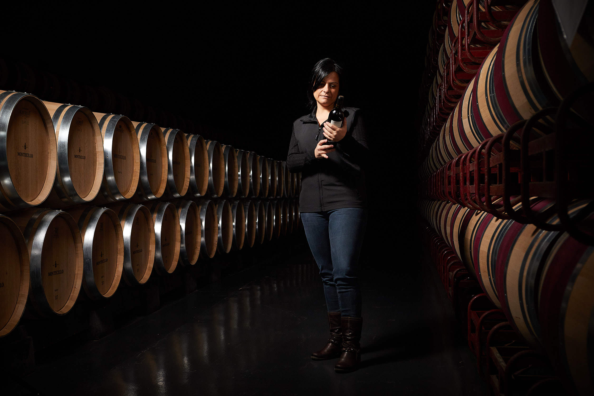 Fotografía Corporativa La Rioja - Bodegas Montecillo, Navarrete, La Rioja_James_Sturcke_sturcke.org