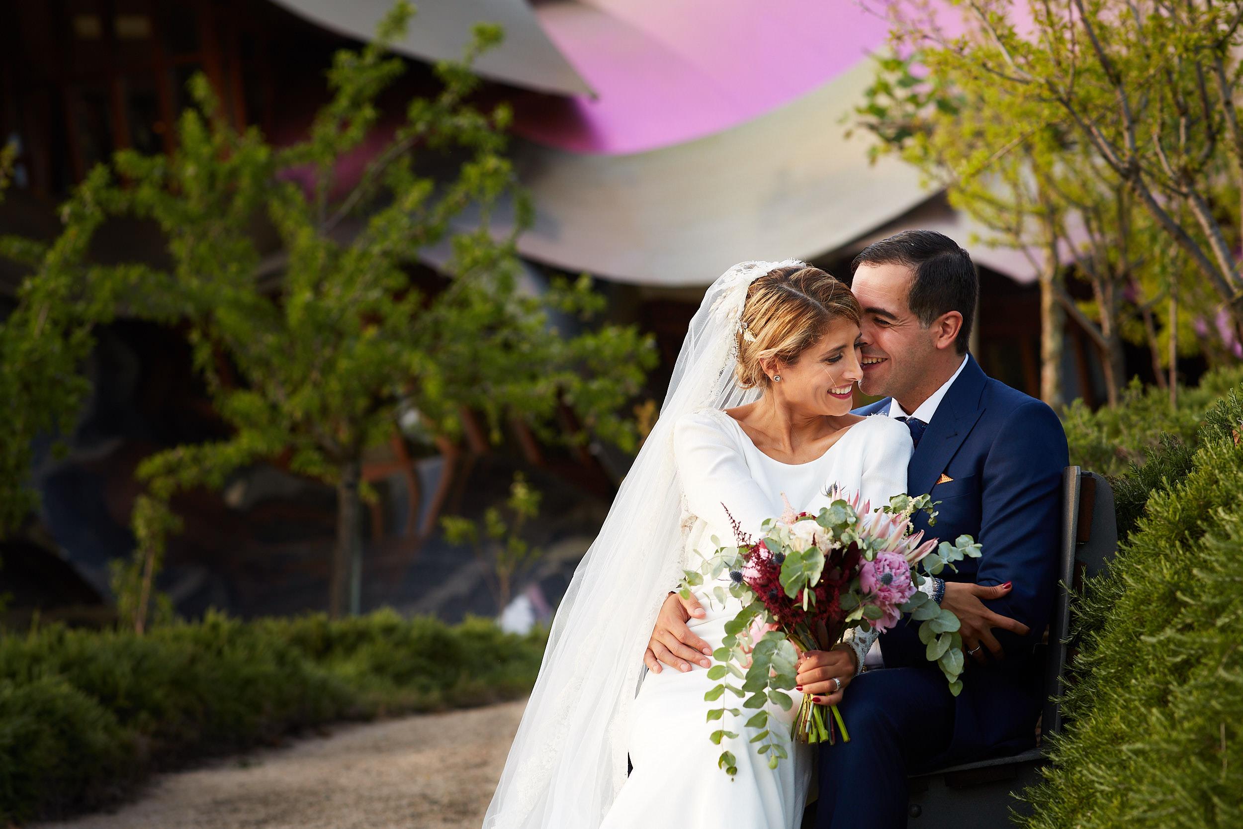 27/7/18 Laura & Aitor, Wedding Hotel Marqués de Riscal, Elciego, Álava, Basque Country, Spain. Photo by James Sturcke | sturcke.org