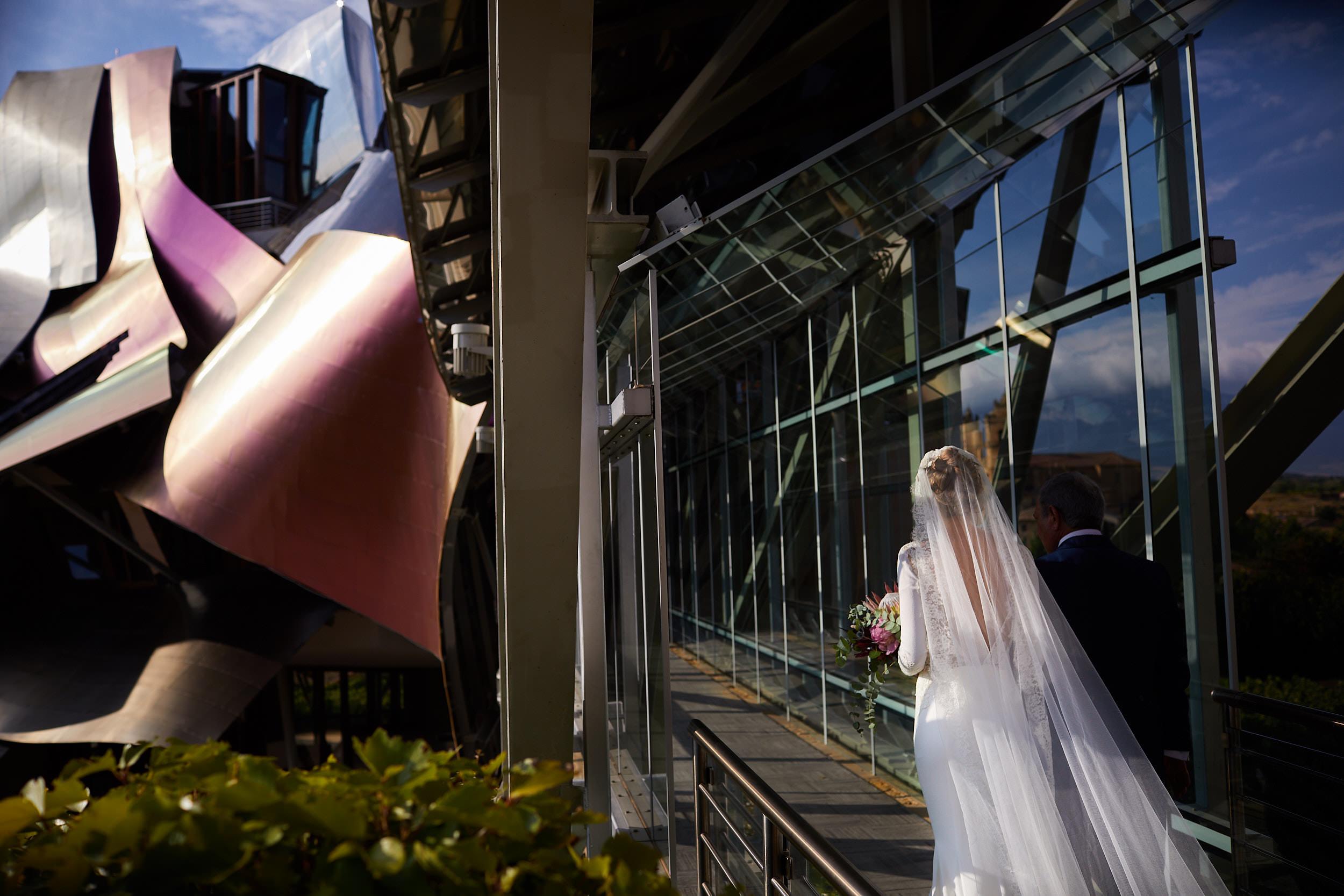 27/7/18 Laura & Aitor, Boda Hotel Marqués de Riscal, Elciego, Álava, País Vasco, España. Photo by James Sturcke | sturcke.org