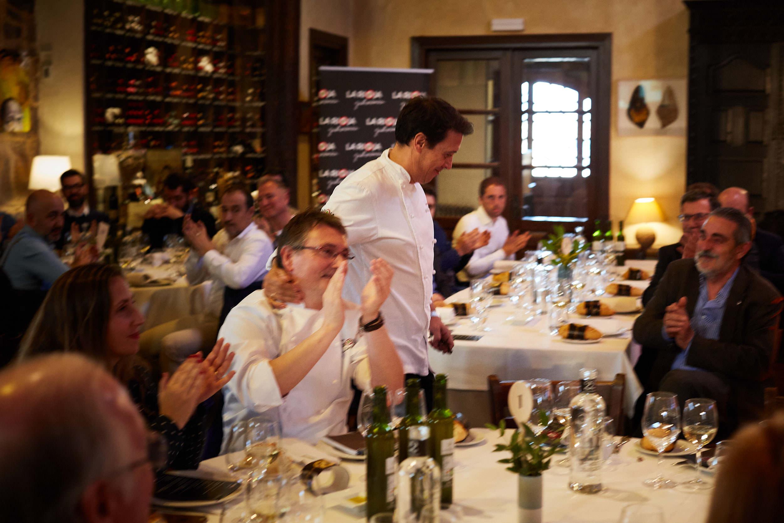 1/3/19 Rioja Capital, Restaurante La Vieja Bodega, Casalarreina (La Rioja), Spain. Photo by James Sturcke | sturcke.org