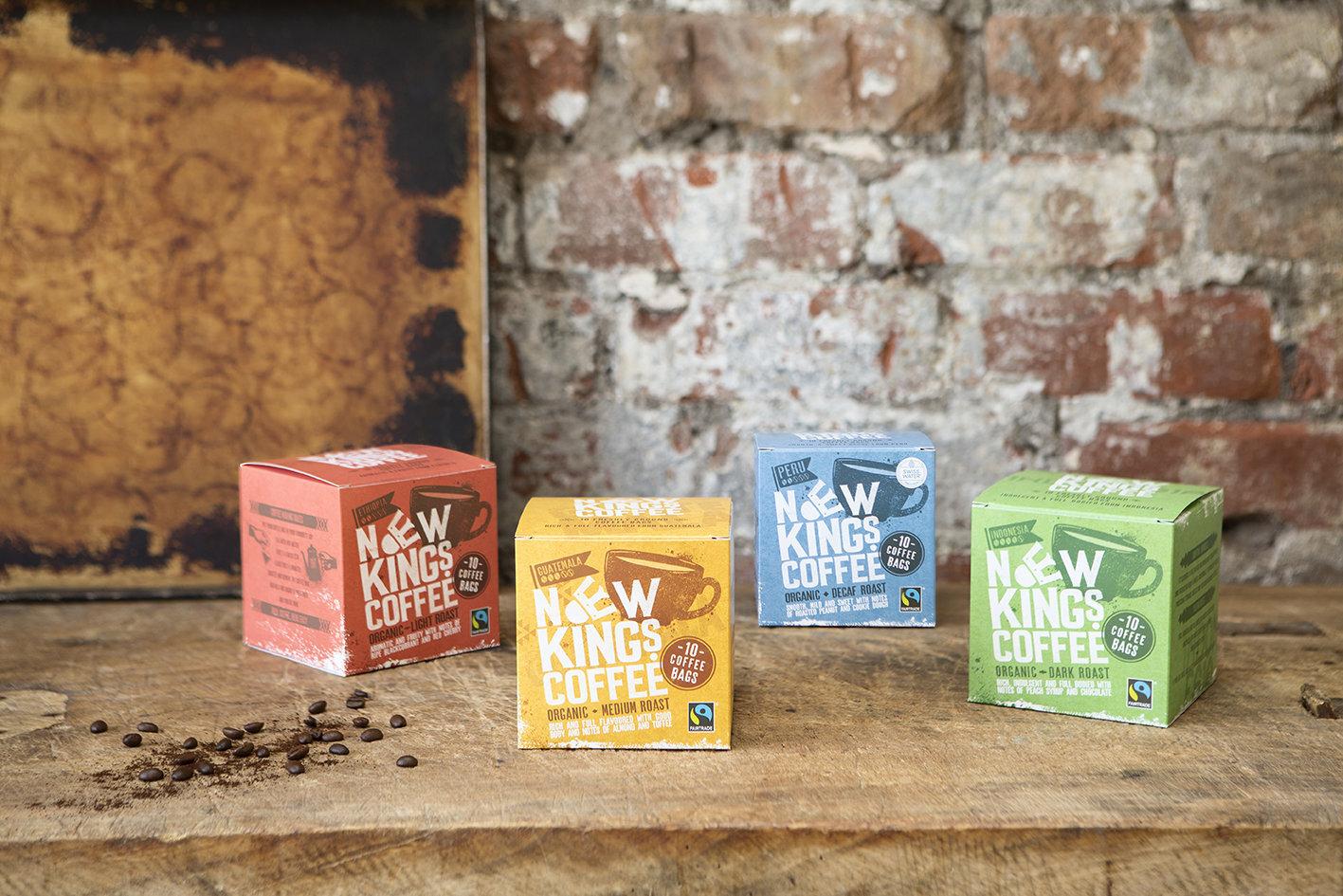 Choice of Dark, Medium, Light and Decaf Roasts Coffee Bags